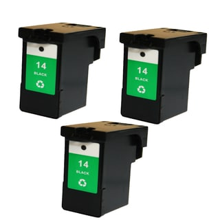 3PK 18C2090 (#14) Compatible Ink Cartridge For Lexmark X2600 ( Pack of 3 )
