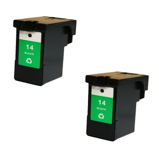 2PK 18C2090 (#14) Compatible Ink Cartridge For Lexmark X2600 ( Pack of 2 )