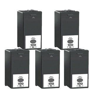5PK 14N1068 Black Compatible Ink Cartridge For Lexmark S300 S301 S302 S305 ( Pack of 5 )