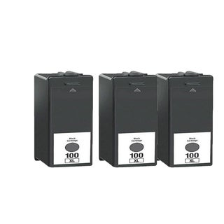 3PK 14N1068 Black Compatible Ink Cartridge For Lexmark S300 S301 S302 S305 ( Pack of 3 )