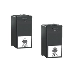 2PK 14N1068 Black Compatible Ink Cartridge For Lexmark S300 S301 S302 S305 ( Pack of 2 )