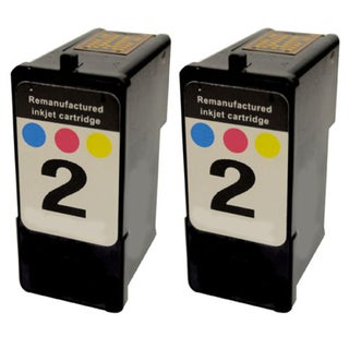 2PK 18C0190 (#2) Compatible Ink Cartridge For Lexmark X2480 X2580 (Pack of 2)