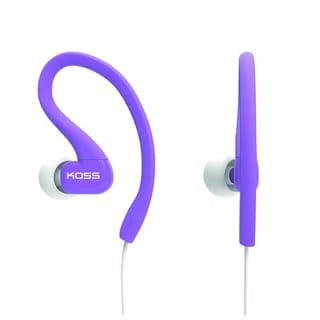 Koss KSC32L Fitclips Headphones, Purple