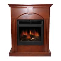 Sparta 30 Inch Electric Fireplace With Remote Free
