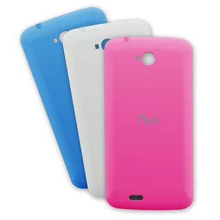 NUU Mobile X3/ NU2S Interchangeable Back Cover (Pack of 3)