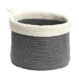 InterDesign Ellis Round Knit Bin