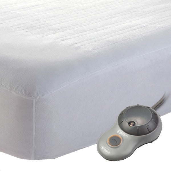 Shop Sunbeam Quilted Heated Mattress Pad Twin Free