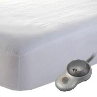 555764254037 Shop Sunbeam Comfy Toes Heated Mattress Pad
