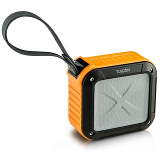 Turcom TS-456 Portable Waterproof Rugged Bluetooth Speaker with Built in Mic