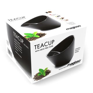 Magisso Pure Black Teacup