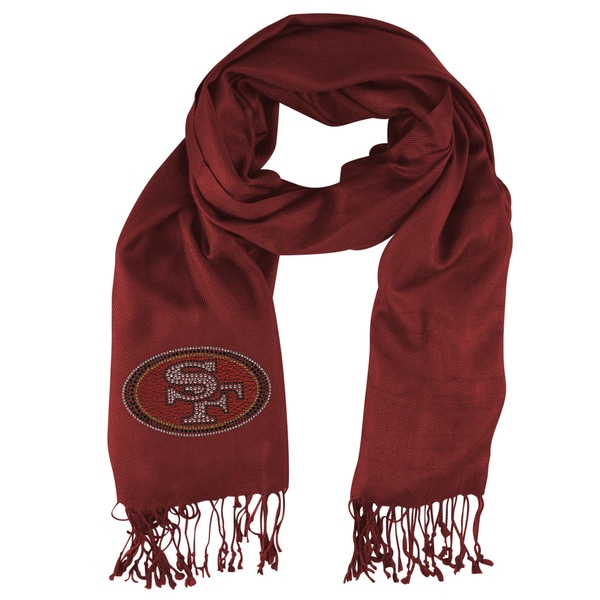 San Francisco 49ers NFL Pashmina Fan Scarf
