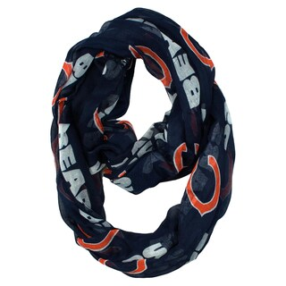 Chicago Bears NFL Sheer Infinity Scarf