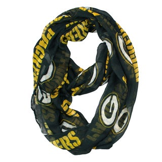 Link to Green Bay Packers NFL Sheer Infinity Scarf Similar Items in Fan Shop