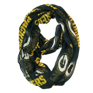 Green Bay Packers NFL Sheer Infinity Scarf