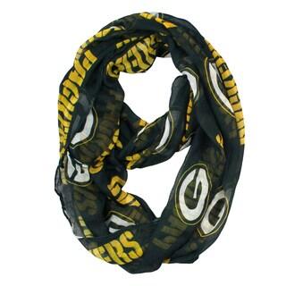 Green Bay Packers NFL Sheer Infinity Scarf
