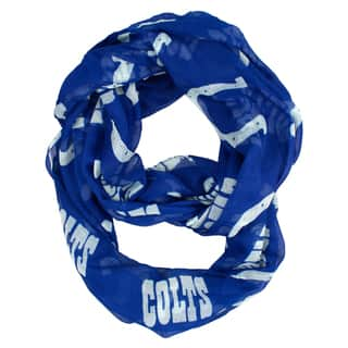 Indianapolis Colts NFL Sheer Infinity Scarf|https://ak1.ostkcdn.com/images/products/10634202/P17702785.jpg?impolicy=medium