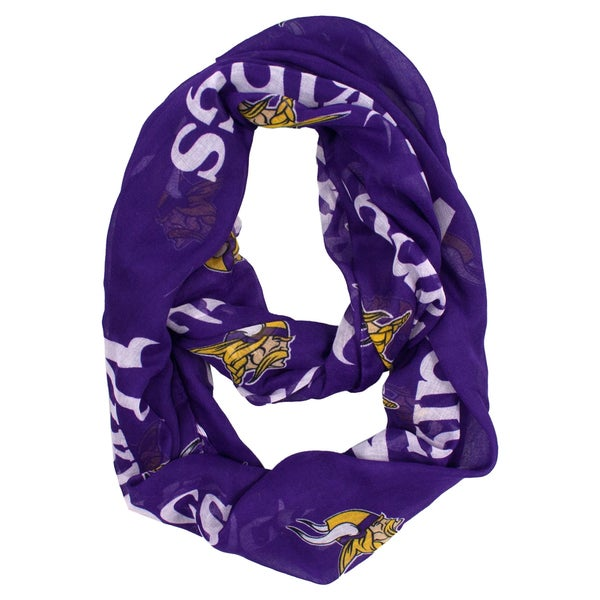 Minnesota Vikings NFL Sheer Infinity Scarf
