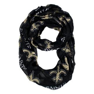 New Orleans Saints NFL Sheer Infinity Scarf