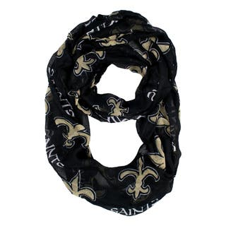 New Orleans Saints NFL Sheer Infinity Scarf|https://ak1.ostkcdn.com/images/products/10634205/P17702788.jpg?impolicy=medium