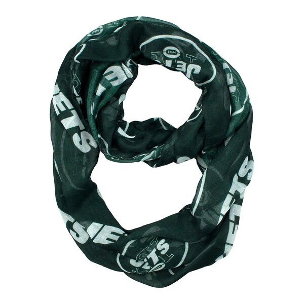 New York Jets NFL Sheer Infinity Scarf