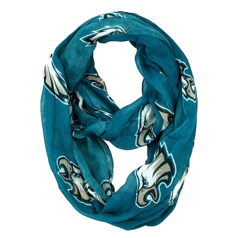Philadelphia Eagles NFL Sheer Infinity Scarf