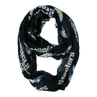 Pittsburgh Steelers NFL Sheer Infinity Scarf
