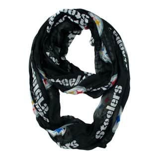 Pittsburgh Steelers NFL Sheer Infinity Scarf|https://ak1.ostkcdn.com/images/products/10634209/P17702792.jpg?impolicy=medium
