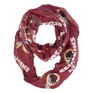 Washington Redskins NFL Sheer Infinity Scarf