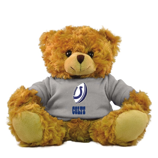 Indianapolis Colts 9-inch Rally Men Hoodie Bear