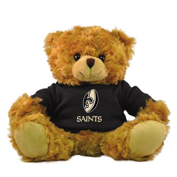 New Orleans Saints 9-inch Rally Men Hoodie Bear
