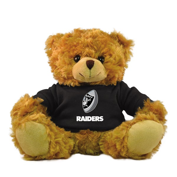 Oakland Raiders 9-inch Rally Men Hoodie Bear