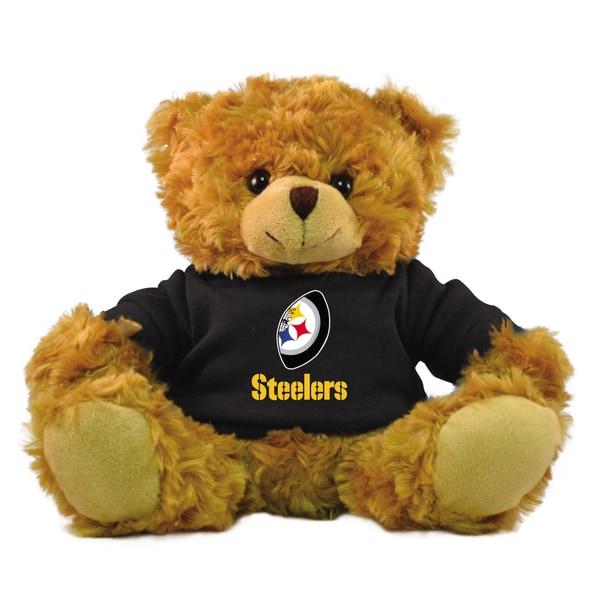 Pittsburgh Steelers 9-inch Rally Men Hoodie Bear