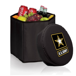 Picnic Time Bongo Cooler - Black (U.S. Army)