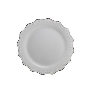 "10 Strawberry Street Oxford Salad Plate 8.3"" Set of 6"