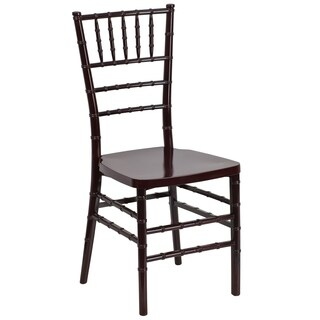 Flash Elegance Resin Stacking Chiavari Chair