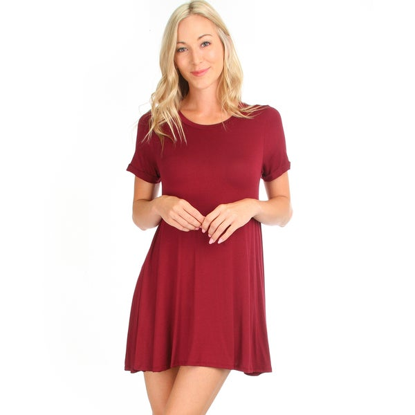 Reporting for Cutie T-Shirt Dress