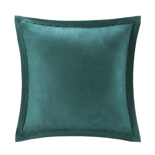 Copper Grove PersicaFeather Down Filled Microsuede Square Pillow (20x20)