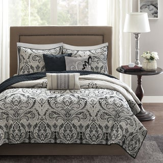 Madison Park Omega 6-Piece Quilted Coverlet Set