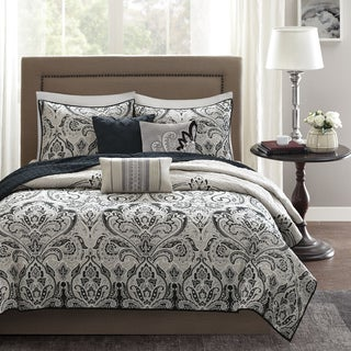 Madison Park Omega 6-Piece Quilted Coverlet Set (2 options available)