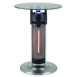 EnerG+ HEA-14756 LED Bistro Style Table with Electric Infrared Heater Tower