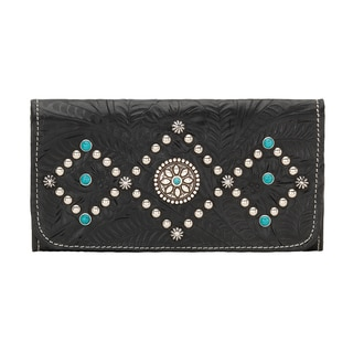 American West 2320282 Canyon Creek Tri-Fold Wallet