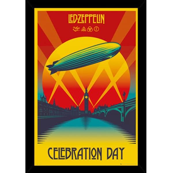 led zeppelin celebration day print 24inch x 36inch