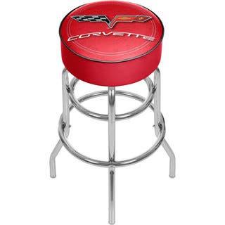 Corvette C6 Red Padded Bar Stool|https://ak1.ostkcdn.com/images/products/10634510/P17703069.jpg?impolicy=medium