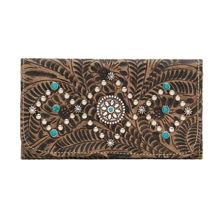 American West 2383282 Canyon Creek Tri-Fold Wallet