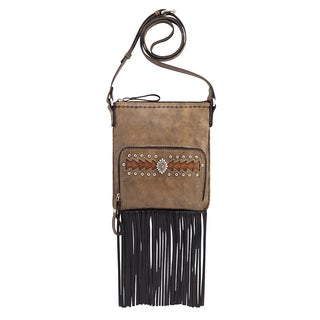 American West 4185493 Moon Dancer Crossbody Bag