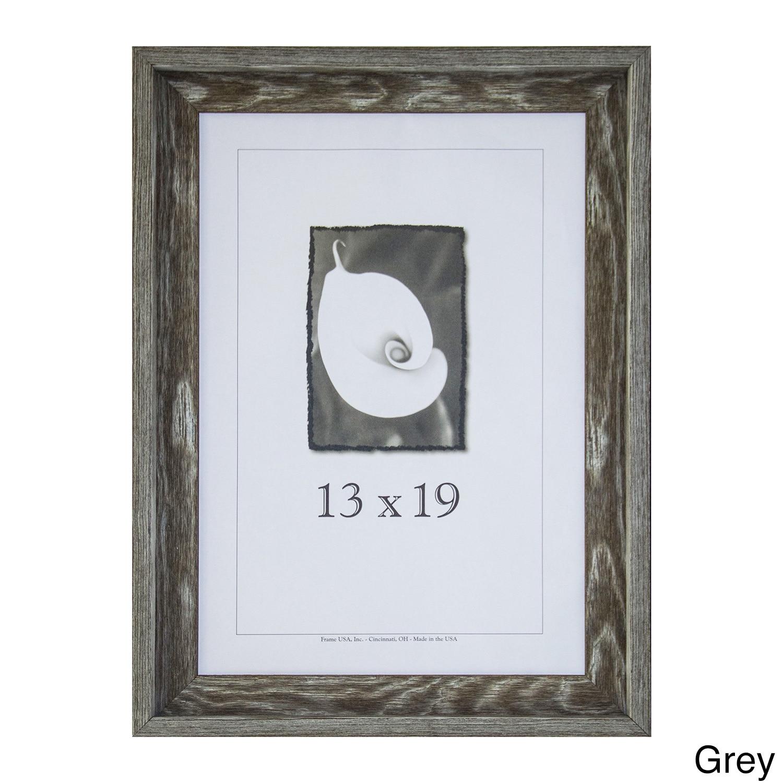 Frame USA Appalachian Barnwood Picture Frame 13x19 (Grey)