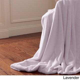 Aurora Home Throw-Luxe Faux Fur Heavy Weight Throw Blanket