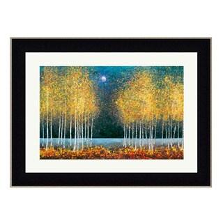 Framed Art Print 50 x 38 By Melissa Graves-Brown- Blue Moon