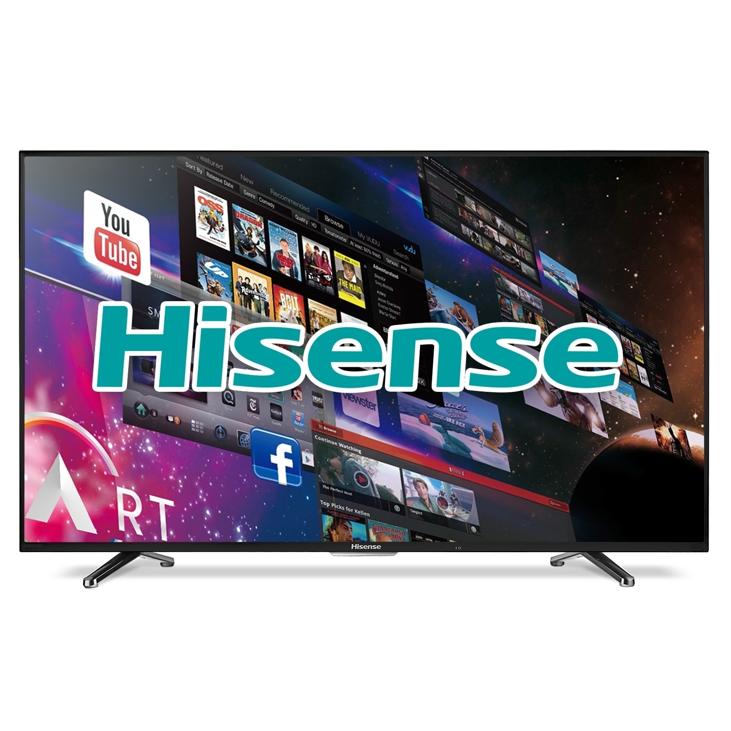Shop Hisense 40H5B 40-inch 1080p 60Hz Smart Wi-Fi LED HDTV (Refurbished) -  Overstock - 10634631