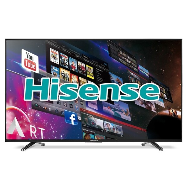 Hisense 40h5b 40-inch 1080p 60hz Smart Wi-fi Led Hdtv  Refurbished